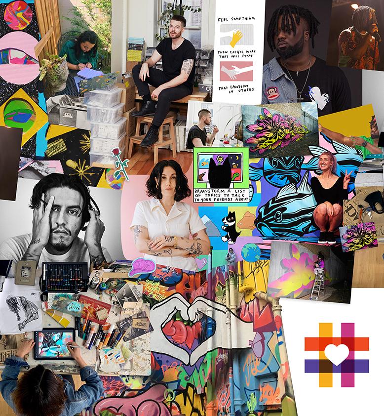 #spreadheART Collage