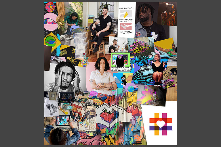 #spreadheART feed collage