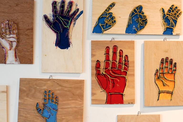 3D Hands Arwork