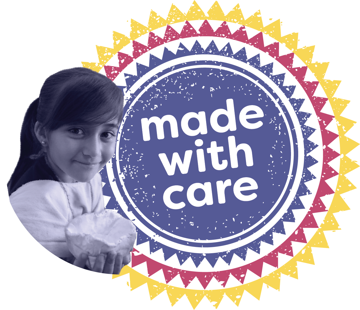 Made With Care stamp